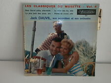 JACK DAUVIL Vol 4 Beer barrel polka VISADISC 213 MUSETTE