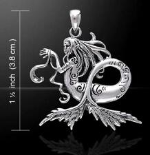 Dark Waters Fairy Pendant by Amy Brown  ~Sterling Silver   Peter Stone