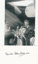 British RAF ACE Allen Scott 5 Vic WWII Test Pilot signed 4x6 PHOTO