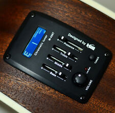 M-450T 4 Band EQ Guitar Equalizer Acoustic Guitar Preamp Piezo Pickup