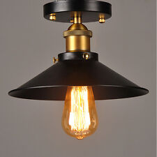 Retro Industrial Iron Vintage Loft Ceiling light Chandelier Pendant Lamp Fixture
