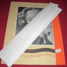prospekt faltblatt pelikan schreibbänder band prospekt  alt reklame werbung 1939