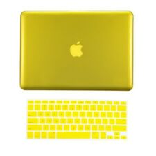 "2in1 YELLOW Crystal Case for NEW Macbook Pro 13"" A1425 Retina display +Key Cover"