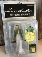 Jane Austen Action Figure with Writing Desk & Quill Pen New