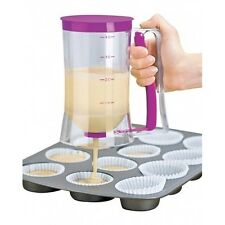 Batter Dispenser Cupcake Pancake Baking Tool Muffin Jug Pastry Cup Waffles Mix