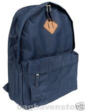 Boy Girl's NAVY NEW Backpack Men's Rucksack School Bag A4 Atmosphere PRIMARK
