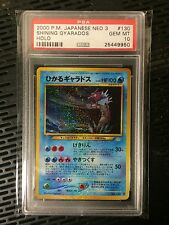 Neo Shining Gyarados Japanese Psa 10 Gem Mint Pokemon Card