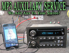 04 05 06 CHEVY SIERRA TAHOE SILVERADO STEREO CD TAPE Player MP3 IPOD AUX INPUT