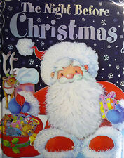 Large (A4) The Night Before Christmas Padded Colourful Story Book