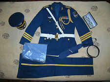 07's series China PLA Air Force Honour Guard Senior Colonel Officer Clothing,Set