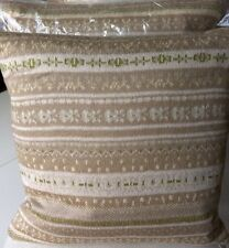 Laura Ashley Shetland Truffle Cushion  - Square 45cm x 45cm NEW (RRP £45 )