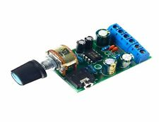 DC 1.8-12V TDA2822M Amplifier 2.0 Channel Stereo Audio Amp Board CHIP 41 B