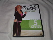 Leslie Sansone: Walk Away the Pounds- 5-Day Fit Walk DVD Workout Exercise Cardio