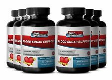Heart Health - Blood Sugar Support 620mg - Prevent Health Complications Pills 6B