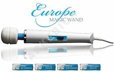 Europe Magic Wand - Tête de massage métallique- Avec extension de garantie 5 ans
