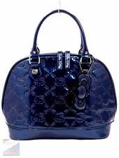 Hello Kitty Loungefly RARE Cobalt Blue Dome Doc Satchel Purse Large $85 EXC