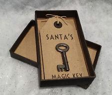 East of india boxed Santa's magic clé vintage design Père Noël