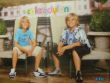 Dylan and Cole Sprouse, Two Page Centerfold Poster