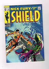 NICK FURY AGENT OF SHIELD #11 Grade 7.0 Silver Age find! Gorgeous cover art!