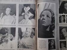 LA SEMAINE 03-1941 artistes à PONT-aux-DAMES (77), le Mary O'Hara, foire LEIPZIG
