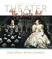 Theater: The Lively Art w. CD-ROM and Theatergoers Guide 4th ed-ExLibrary