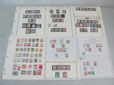 Nystamps China Manchukuo old stamp collection album page