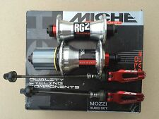 New! Miche RC2 Racing Box Hubs 36 H fit Shimano 9/10/11 Speed