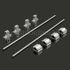 4X SCS8UU Lineal Cojinete Bloque SK8 Bearing +2X Eje Rod 400mm de 3D Printer CNC