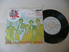 "CROWN HEIGHTS AFFAIR""YOU CAN'T BEND MY SUPER-disco 45 giri RCA It1974""PERFETTO"