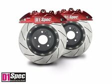 D1 Front RS RED Forged Big Brake Kit 4pot Front for 2011+ Ford Focus S SE SEL