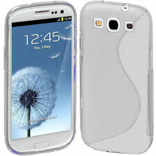 HOUSSE ETUI COQUE SILICONE GEL SAMSUNG GALAXY S3 TRANSPARENT