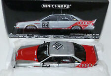 AUDI v8 QUATTRO DTM 1992 #44 no. 44 Team SMS H.J. Stuck Minichamps 100921044 1:18