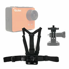 Adjustable Chest Mount For Rollei Bullet 4S, Mini, 5S , 3S, S-50, Racy 40240