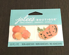 SCRAPBOOKING STICKERS JOLEE'S A COLLER CITROUILLES D'HALLOWEEN   3D