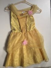 BELLE Princess Dress Up Gown Disney Store Sz 7/8 7 8
