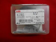 NEW ABB AUXILIARY SWITCH KIT  K7AS  S6 S7 ISOMAX  1SDA023366R1