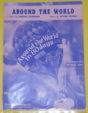 Around The World in 80 Days Michael Todd Movie Music! Great Picture SEE!