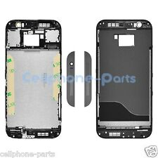 OEM HTC One M8 831C Front Housing with Bezel Frame, Black Replacement Part, USA