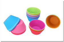 12 Mini Silicone Cup Cake Mold For Muffin Bakeware Baking Tools
