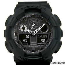 CASIO GSHOCK XLARGE G BLACK LIMITED WATCH NEW GA100-1A1