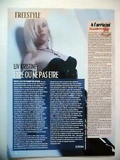 COUPURE DE PRESSE-CLIPPING :  LIV KRISTINE  01/2006 Leaves Eyes,Tribune Libre