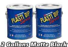 2 Gallon Plasti Dip Matte Black Spray Rubber Coating Ready to Spray Rubber Kit
