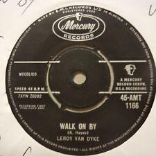"Leroy Van Dyke(7"" Vinyl)Walk On By-Mercury-AMT 1166-UK-1961-Ex/Ex+"