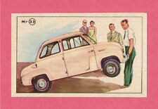 Goggomobil Vintage 1950s Car Collector Card from Sweden D