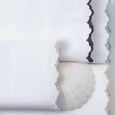 NEW PEACOCK ALLEY CALYPSO PAIR KING PERCALE LUXURY PILLOWCASES RETAIL $130 each