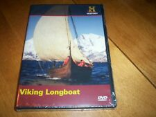 VIKING LONGBOAT Vikings Ships Ship Explorations Wars History Channel DVD NEW