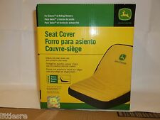 NEW JOHN DEERE MEDIUM SEAT COVER FOR SEATS WITH 15in BACK REST LAWN TRACTORS