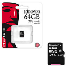 64GB KINGSTON Micro SD SDXC Memory Card UHS-I Class 10 45MB/s  64GB