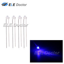 500pcs 1.8mm Diffused White-Blue Light LED Diodes DIP High Quality