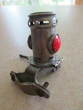 Vintage brass motorcycle carbide tail lamp for BSA Norton Triumph AJS Ariel